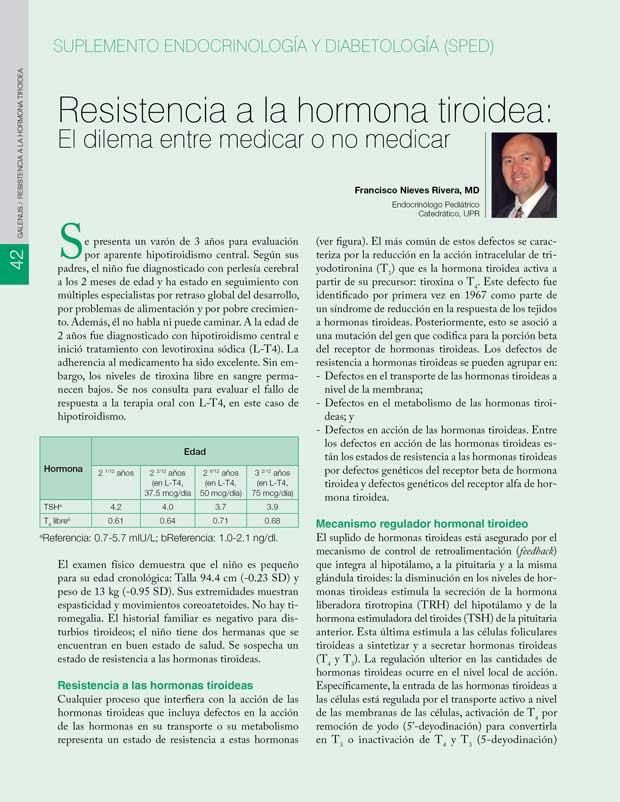 Resistencia a la hormona tiroidea