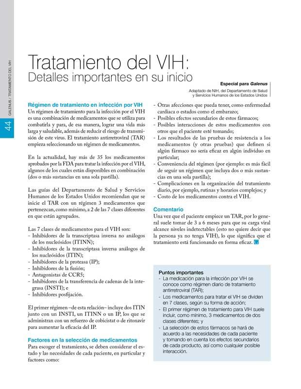 Tratamiento del VIH