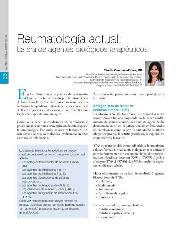 Reumatología actual