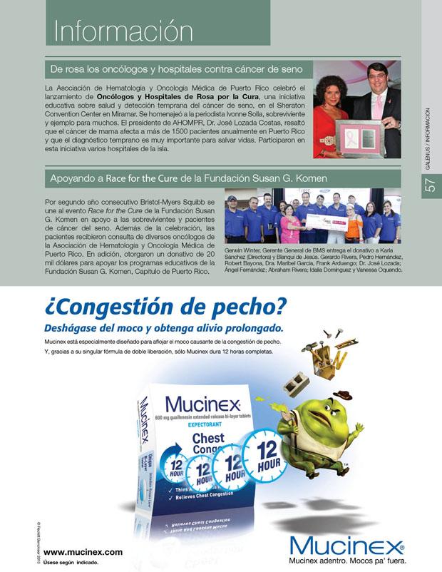 Información y novedades farmacéuticas y médicas