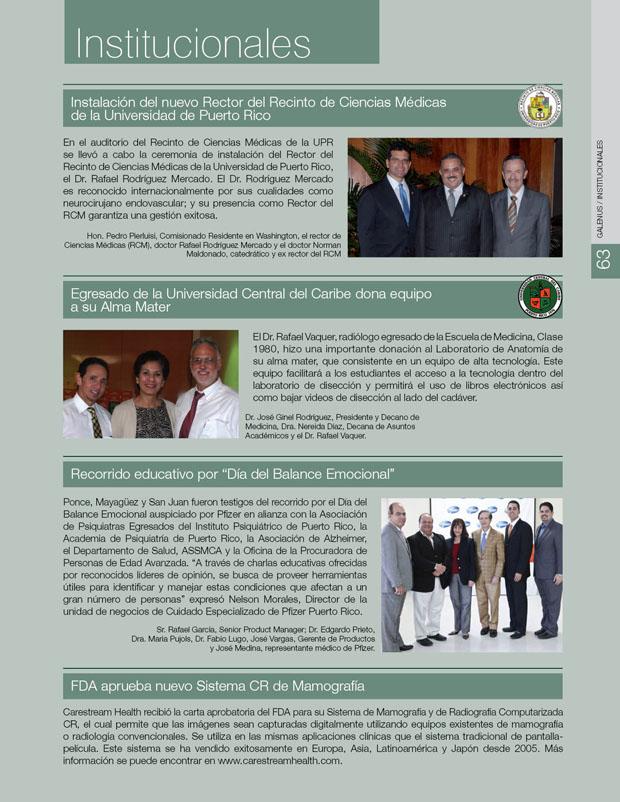 Institucionales e Información
