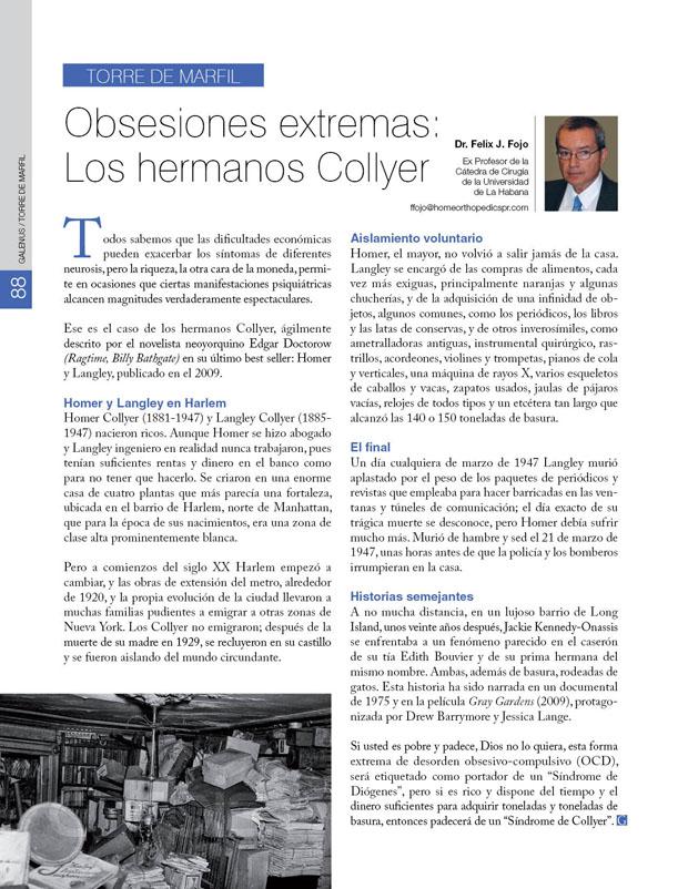 Torre de marfil: Obsesiones extremas: Los hermanos Collyer