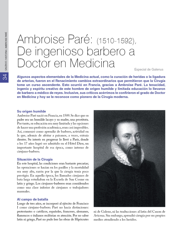 Historia / Ambroise Paré