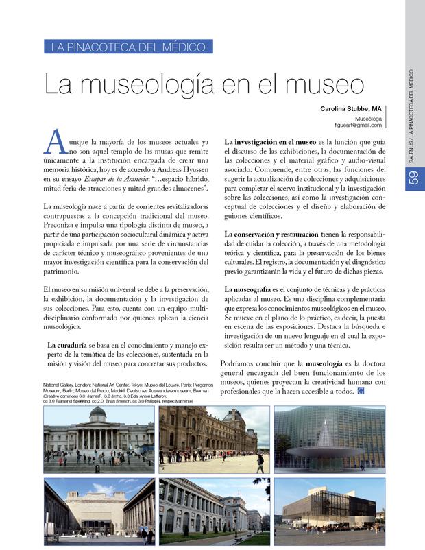 La Pinacoteca Del Médico / La museología en el museo