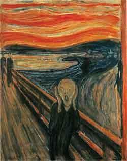 The scream, 1893 Edvard Munch